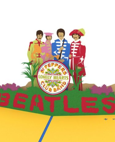The Beatles Sgt. Pepper 3D Card