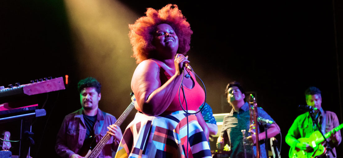 The Suffers performing at the TLA - Philly 11.03.17